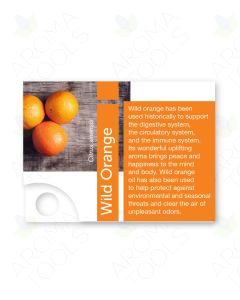 Premium Essential Oil Sample Cards (Pack of 12)