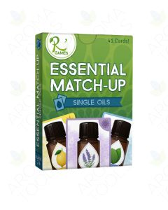 """Essential Match Up: Single Oils"" Card Game (41 Cards)"