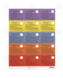 Assorted Oil Tips Card Set (Sheet of 15)