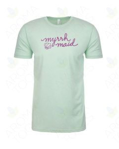 "Unisex Mint Green ""Myrrh Maid"" Short-Sleeve Shirt"