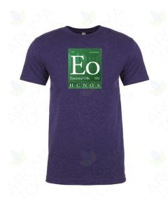 "Unisex Storm Purple ""Essential Oils 101"" Short-Sleeve Shirt"