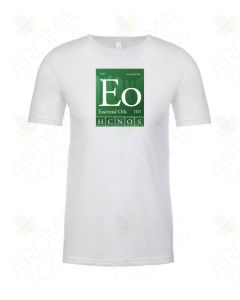 "Unisex White ""Essential Oils 101"" Short-Sleeve Shirt"