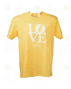 "Unisex Banana Cream ""Love doTERRA"" Short-Sleeve Shirt"