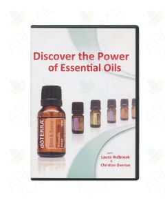 """Discover the Power of Essential Oils"" DVD (PAL European Format) and Card Insert"