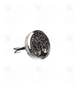 Leafy Tree Stainless Steel Car Diffuser
