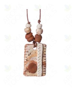 Abstract Clay Pendant Diffuser