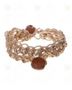 Hemp and Clay Bracelet Diffuser