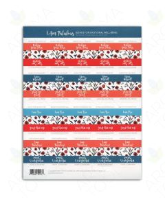 I Am Fabulous Favorite Blends Labels (Sheet of 40)