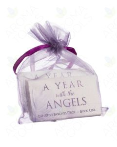 A Year with the Angels Intuitive Insights Deck, Book 1, by Rebecca Loach (52 Cards)