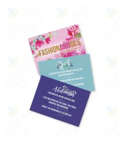 @Fashion And Oils Affirmation/Recipe Cards (Pack of 8)