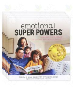 """Emotional Super Powers: Awakening the New Brain with Super Tools & Super Smells"" Booklet, by Pam Robinson and Rachelle Castor (Pack of 5)"