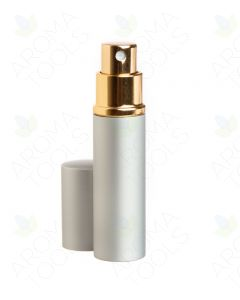 3 ml Deluxe Silver-tone Misting Spray Bottle