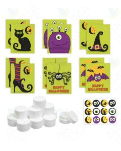 DIY Assorted Halloween Lip Balm Gift Set