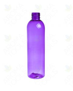 8 oz. Purple PET Bullet Plastic Bottle (24-410 Neck Size)