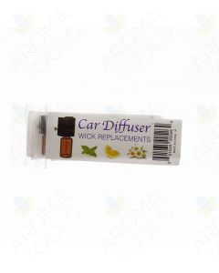 Replacement Wicks for Car Vent Diffuser (Pack of 8)