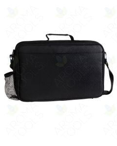 Black Geometric Aroma Ready Deluxe Foam Case (Holds 79 Vials)