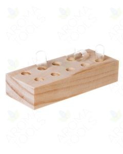 Wooden Capsule Holder (10 Slots/2 Sizes)