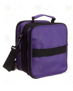 Purple Multi-size Bottle Carrying Case (Holds 91 Vials)