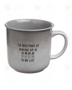 "Gray Speckled ""Oils In My Cup"" Mug"
