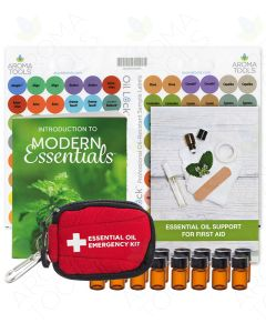AromaTools Essential Oil Emergency Kit (16 Sample Vials)