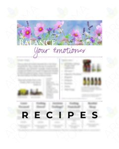 "Lisa Zimmer's ""Balance Your Emotions"" Digital Make & Take Handout"