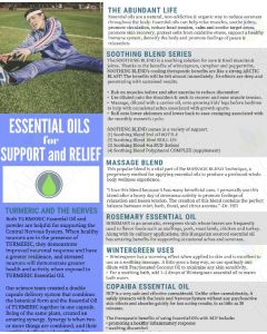 """Essential Oils for Support and Relief"" Digital Tear Pad"