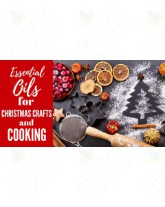 """Essential Oils for Christmas Crafts and Cooking"" Essential Oil Academy Digital Online Class"