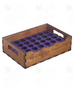 "Small ""Gift of the Earth Treasure Tray"" (Holds 36 Vials)"