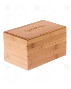 Mini doTERRA Bamboo Essential Oils Box (Holds 15 Vials)