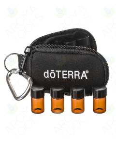 Branded Key Chain Case with 8 Sample Vials (5/8 Dram)