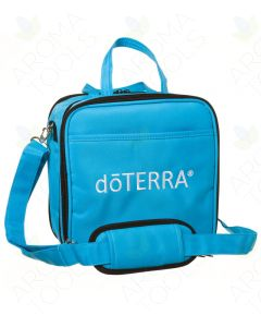Sky Blue doTERRA Branded Compact Versatile Aromatherapy Case (Holds 60 Vials)