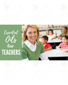 """Essential Oils for Teachers"" Essential Oil Academy Digital Online Class"