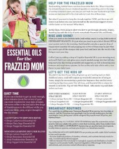 """Essential Oils for the Frazzled Mom"" Digital Tear Pad"