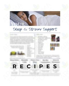 "Lisa Zimmer's ""Sleep and Stress Support"" Digital Make & Take Handout"
